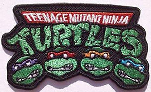 Teenage Mutant Ninja Turtles Badge bestickt Patch 8,9cm Aufnäher oder zum Aufbügeln