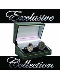 1950Re Giorgio monetina portafortuna in argento Gemelli e presentazione custodia