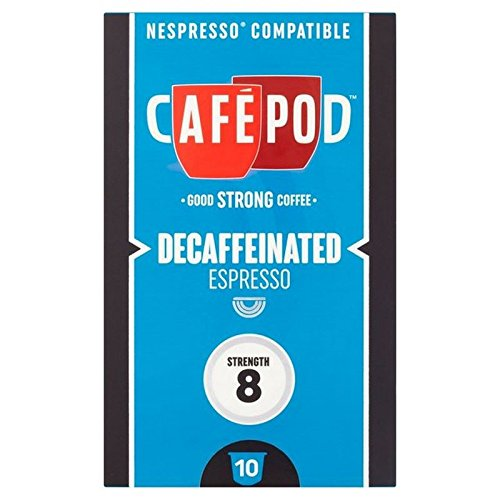 Shop for CafePod Decaf Nespresso Compatible Capsules 10 per pack by CafePod