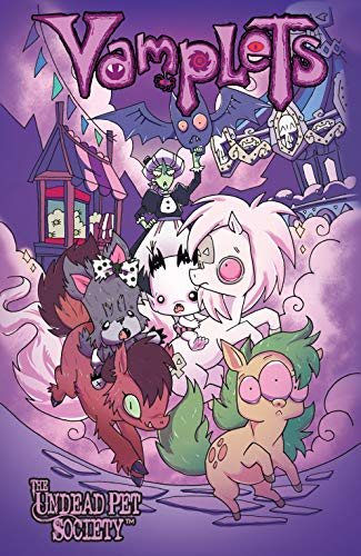 Vamplets: The Undead Pet Society Vol. 4 (English Edition)
