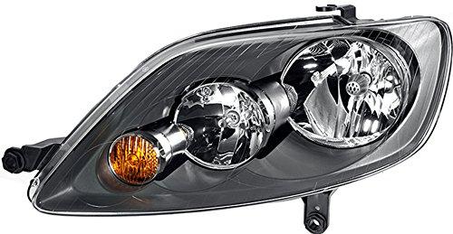 HELLA 1EE 247 013-061 Halogen Hauptscheinwerfer, Rechts, Ohne Kurvenlicht, mit Glühlampen, mit Stellmotor für LWR