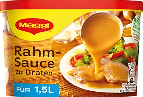 Maggi Rahm-Sauce, 1er Pack (1.5 Liter Sauce)