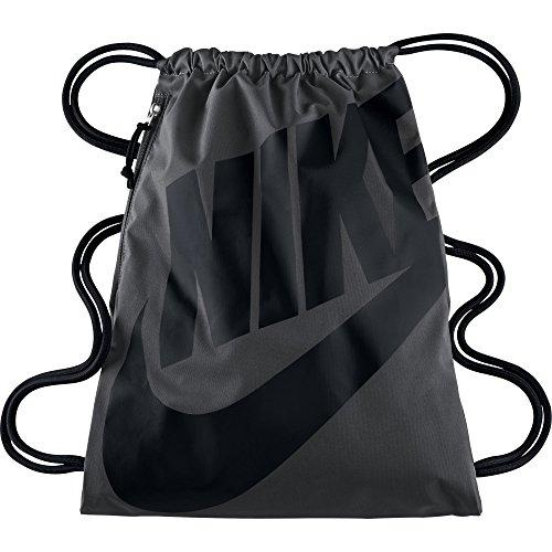 Nike Unisex-Erwachsene NK Heritage GMSK Turnbeutel, Grau (Grau/Schwarz) - 2015 Nikes
