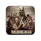 BigBazza The Walking Dead TV Show Zombie Survivor Geschenk Kaffee Tee Büro Küche Neuheit Tasse Untersetzer–Metall