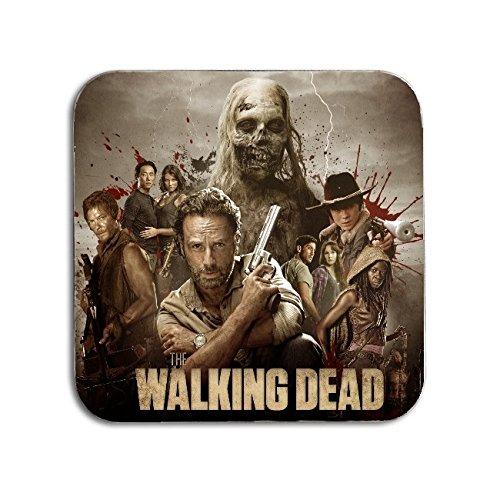 Deluxe Wallet Set (BigBazza The Walking Dead TV Show Zombie Survivor Geschenk Kaffee Tee Büro Küche Neuheit Tasse Untersetzer-Metall)