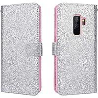 SmartLegend SMART Legend Samsung Galaxy S9 Plus Hülle, Handyhülle Glitzer Bling Schutzhülle Leder Wallet Flip... preisvergleich bei billige-tabletten.eu