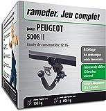 Rameder Attelage rotule démontable pour Peugeot 5008 II + Faisceau 13 Broches...
