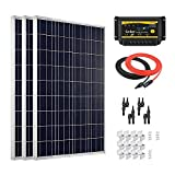 Giosolar 300W, hocheffizient, Solarpanel Solar PV PANEL, LED-Controller für Wohnmobil, Wohnwagen, Camper, Boot/Yacht
