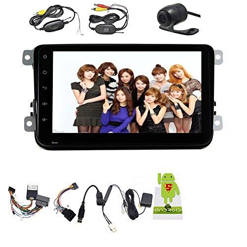 ??Wireless Internet mit Autoradio kostenlos canbus Kasten f¨¹r neue Magotan / Sagitar / Golf / Bora / Touran / Caddy / Tiguan / Scirocco / POLO / Passat / New Lavida / Santana / Skoda Octavia / New Bora / Jetta ... 8-Zoll-HD-Bildschirm GPS-bluetooth-Funktion, AM / FM-Radio, kostenlosen WLAN-Kamera Android 4.4 OS von eincar