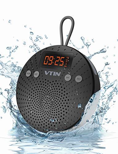 VicTsing Bluetooth Lautsprecher, Tragbarer wasserdichter Wireless Lautsprecher - Mit Bluetooth