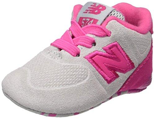 New Balance 574, Zapatillas Unisex bebé, Rosa (Pink), 15 EU