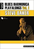 Blues Harmonica Playalongs Vol.1 (inkl. Audio-CD). Spielbuch für Blues Harp. Lehrbuch. Musiknoten.