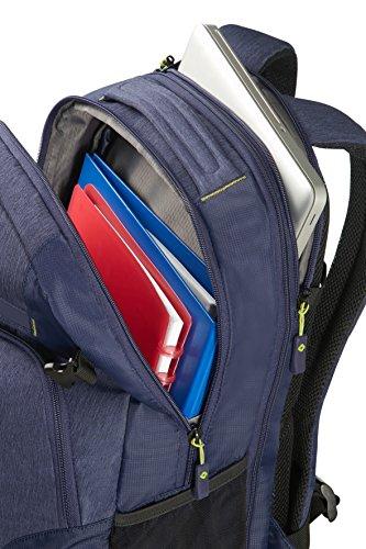 Imagen de samsonite rewind  tipo casual expansible para portátil, 45 cm, 34 l, color azul dark blue  alternativa