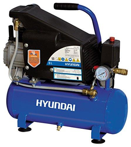 Hyundai 65602 750W air compressor - air compressors (Black, Blue)