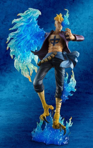 Megahouse One Piece Portrait of Pirates: Marco The Phoenix Excellent Model MAS PVC Figure 3