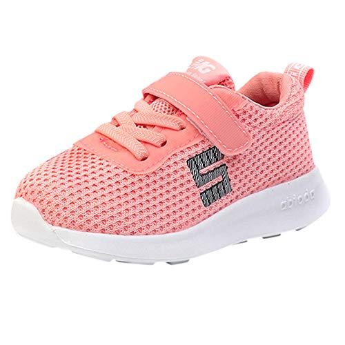 Bild von cinnamou - Jungen Mädchen Baby Mesh Schuhe Brief SneakersToddler Sport Laufschuhe Winter Schuhe für Kinder Mädchen Größe 3-12