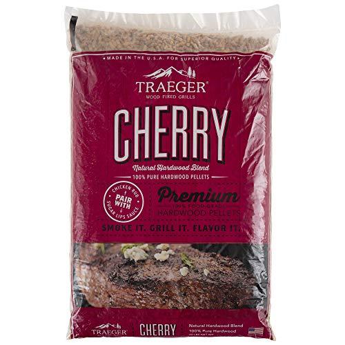 Traeger Hartholz Pellets Kirsche (Cherry) 9 kg Räuchern Smoken Chips