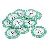 Magideal Pp Clay Casino Poker Chips Mahj...