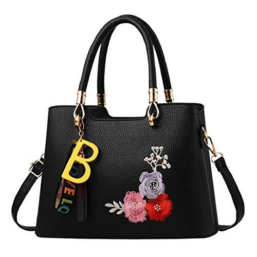 f61869f10 QUICKLYLY Bolso Mujer Bandolera Portatil Bolsa Mensajero Tote Shopper  Callejero Bag Tirantes Carteras Mano Compras Mochilas