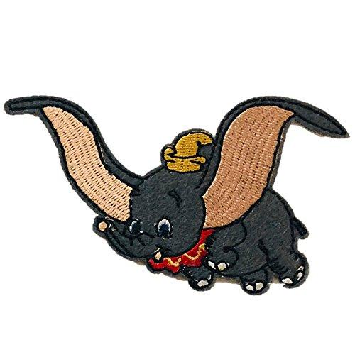 Aufnäher zum Aufbügeln/Aufnähen/Aufnähen Dumbo