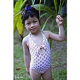 Princesse ilou – Maillot de bain fille 1 pièce imprimé bandana