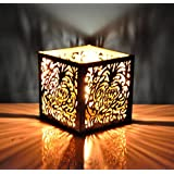 Hashcart Traditional Tea Light Candle Holder/Metal Candle Light Holder Set/Designer Votive Candle Holder Stand/Table Decorative Candle Holders, New Year Tea Light For Home Living Room & Office