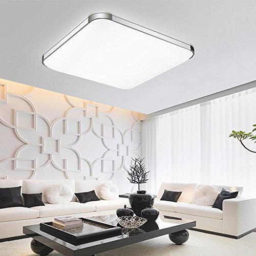 15 Inch LED Flush Ceiling Light 24W Square Flush Mount Cool White Lighting  Ceiling Down