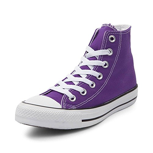 Converse - Mode Sneaker Damen, (Hi Top Electric Purple), 39.5 B (M) EU Damen / 39 D (M) EU Herren Converse-hi-tops