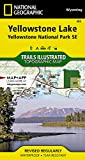 Yellowstone Lake: National Geographic Trails Illustrated National Parks (National Geographic Trails Illustrated Map, Band 305)