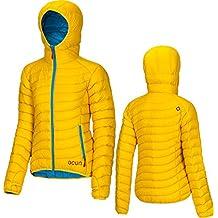 Ocun–Tsunami W Chaqueta de plumón, color amarillo/azul, tamaño medium