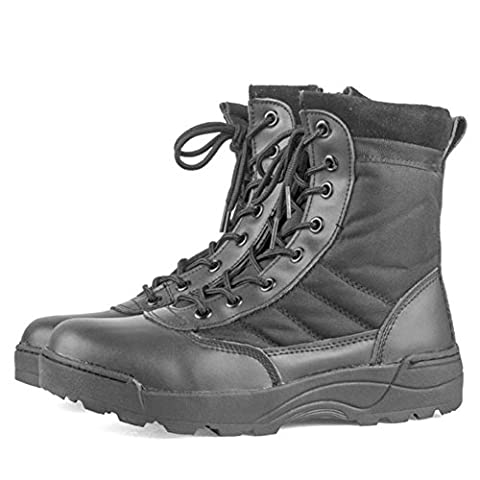 Hommes Bottes Army Combat Patrol Bottes - Tactical Boots Ankle Outdoor Hiking Highdas