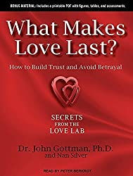 What Makes Love Last?: How to Build Trust and Avoid Betrayal by John M. Gottman Ph.D. (2012-09-04)