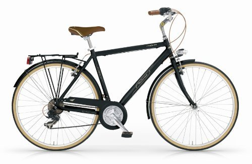 Mbm - Boulevard Man Bicyclette Vélo Homme 28'' H50 18S Trekking City Bike Noir