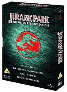 Jurassic Park: The Ultimate Collection 4 DVD Boxset