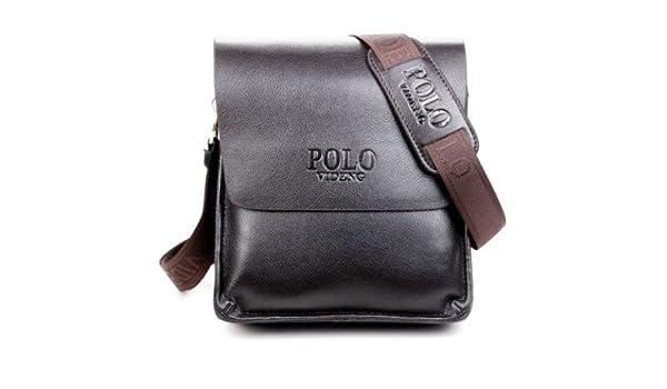 f0aa6954cd Buy Genric black 21X24X7cm   2016 new designers POLO VIDENG brand PU leather  black brown quality men s messenger shoulder handbag bags briefcase VP-1  Online ...