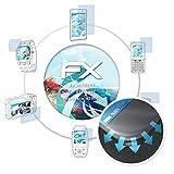 atFolix Schutzfolie passend für Energizer Hardcase H590S Folie, ultraklare und Flexible FX Displayschutzfolie (3X)