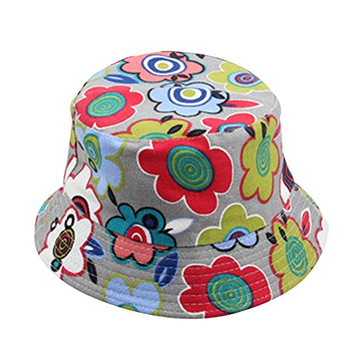 Casual Sun Flower ronde Hat Sun Hat Surker b¨¦b¨¦ 30 Fleurs duplex