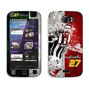Bluegape Micromax Canvas 2 A110 Fabio Quagliarella Football Player Phone Skin Cover, Multicolor