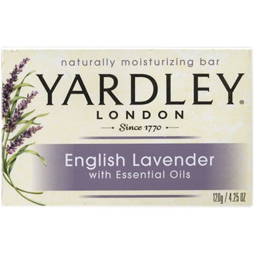 Yardley Bar Soap - English Lavender with Essential Oils , 4.25 oz Bar (Pack of 3)  available at amazon for Rs.1424