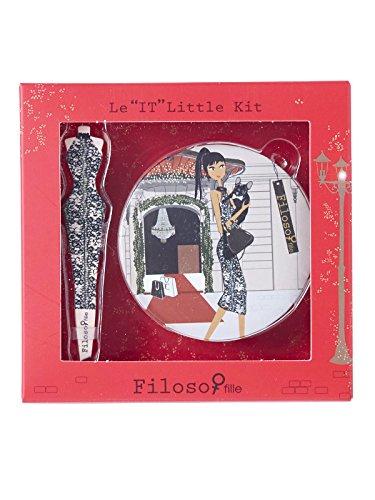 Filosofille Set Accessoires Beauté Épilation Sofie au Palace Kit de Survie 2 Pièces
