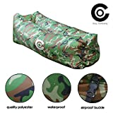 Best Romantic Time Watch Phones - Lazy Camo Inflatable Lounger Beach Sleeping Bag Review