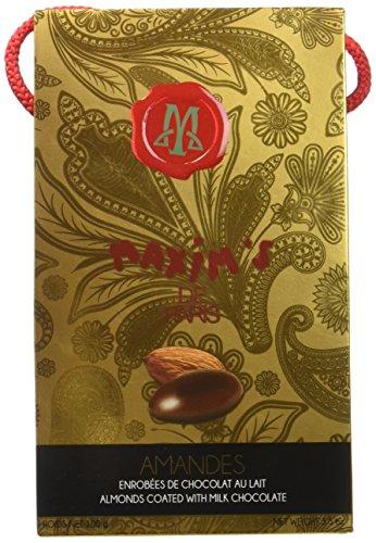 Maxim's de paris Etui Shopping Amandes Chocolat au Lait 100 g