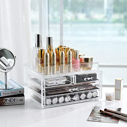 Zoom IMG-3 songmics organizzatore per cosmetici trasparente