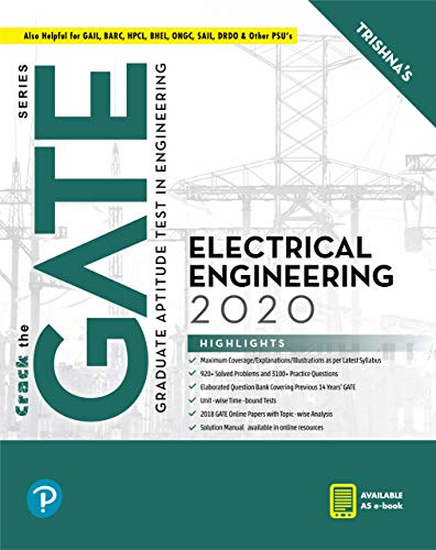 GATE Electrical Engineering  | GATE 2020 | By Pearson