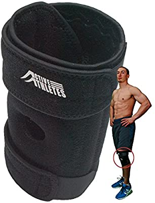 Active Knee Brace: 50% Off the New And Improved Best Open Patella Support for Arthritic, ACL and Meniscus Tear: 60-Day Guarantee and FREE e-Book - One Size