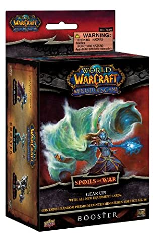 Upper Deck - World of Warcraft - JDFUDE004 - Cartes à collectionner - Miniatures Game Booster Spoils of War