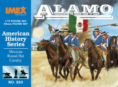 mexican-round-hat-infantry-at-the-alamo-american-history-series-1-72-plastic-soldiers-by-imex