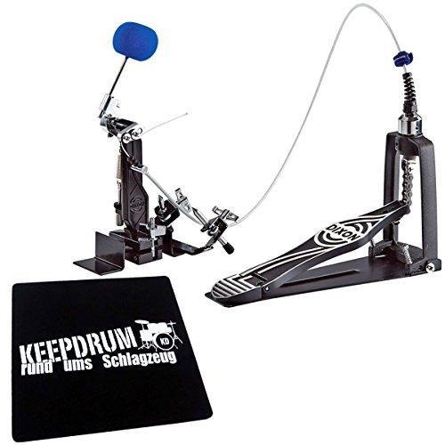Dixon PP9290CP Cajon Remote Pedal Fußmaschine + KEEPDRUM Sitzpad
