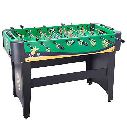 Pinty Football Foosball Table 122 x 83 x 61 cm MDF Soccer Table for Game Room Family Football Table (Green)