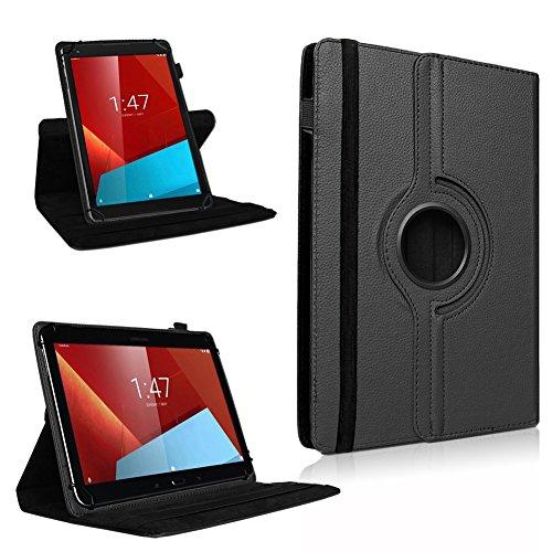 UC-Express Tablet Tasche für Vodafone Smart Tab 4/4G Hülle Tablet 360° drehbar Case Cover